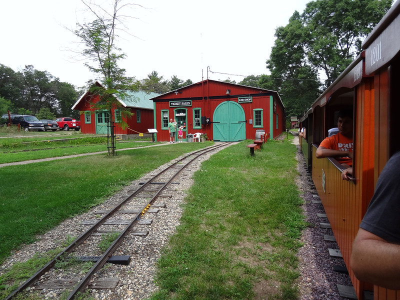 Riverside and Great Northern Railway - Wisconsin Dells