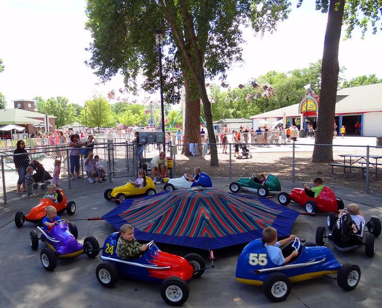 Bay Beach Amusement Park - Green Bay Wisconsin.