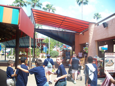 Ridgeview school at Busch Gardens