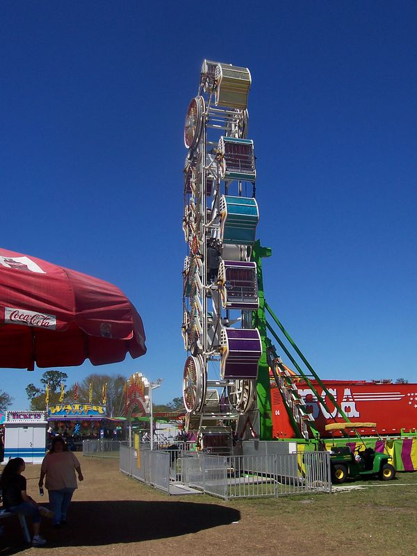 One of the most frightening rides ever, the Zipper
