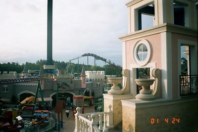 Bima and Salitre Magico amusement parks in Bogota, Colombia