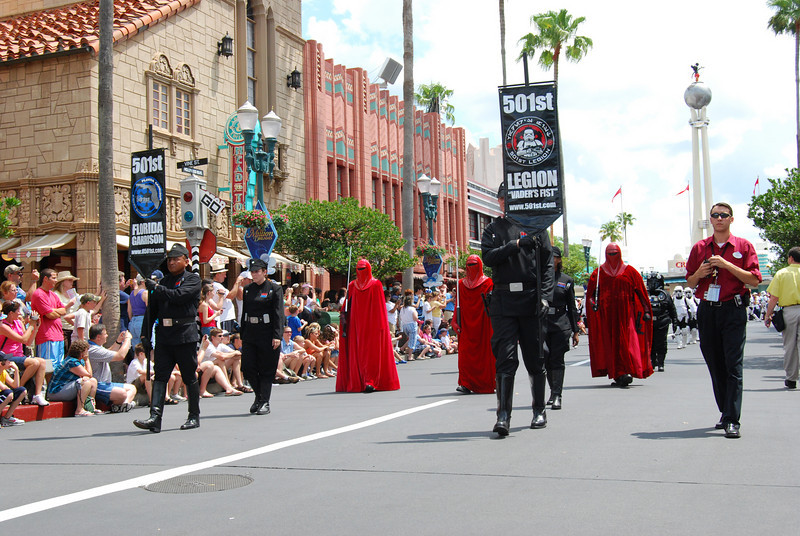 The mighty 501st division, Vader's Fist. This is actually a group of of over 4000 fans who have gotten together, make their own outfits, do appearances, and do such a great job they are now immortalized in the books and games.