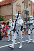 Storm troopers<br /> The mighty 501st division, Vader's Fist. This is actually a group of of over 4000 fans who have gotten together, make their own outfits, do appearances, and do such a great job they are now immortalized in the books and games.