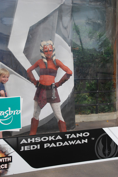 Ashoka Tano- one of the new characters from the upcoming Clone Wars cartoon movie and tv show