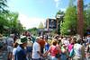 It was a little crowded around the jedi academy show