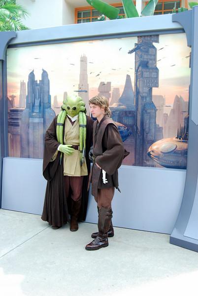 Kit Fisto and Anakin Skywalker