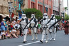 Sand troopers<br /> The mighty 501st division, Vader's Fist. This is actually a group of of over 4000 fans who have gotten together, make their own outfits, do appearances, and do such a great job they are now immortalized in the books and games.
