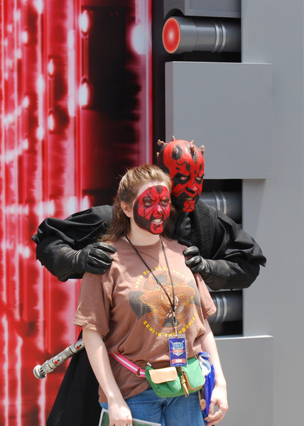 Darth Maul with a friend