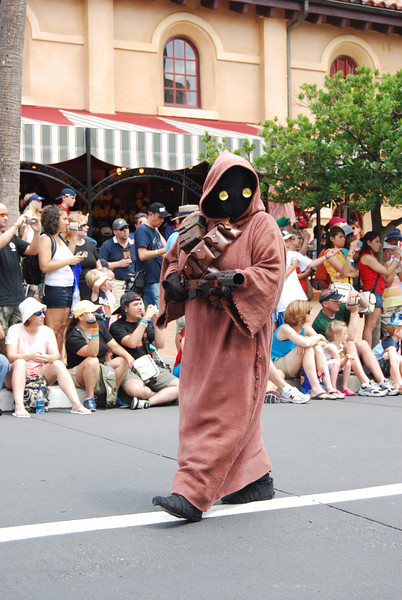 Jawa<br /> The mighty 501st division, Vader's Fist. This is actually a group of of over 4000 fans who have gotten together, make their own outfits, do appearances, and do such a great job they are now immortalized in the books and games.