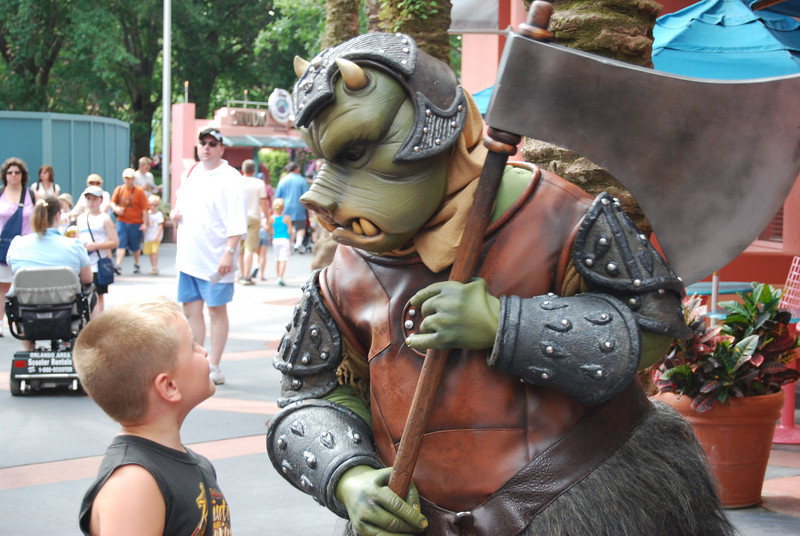 Gamorrean Guard trying to figure out what he's smelling