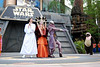 """Hyperspace Hoopla- Leia, Amidala, Zam Wessell and an ewok doing """"Girls Just Want to Have Fun"""""""