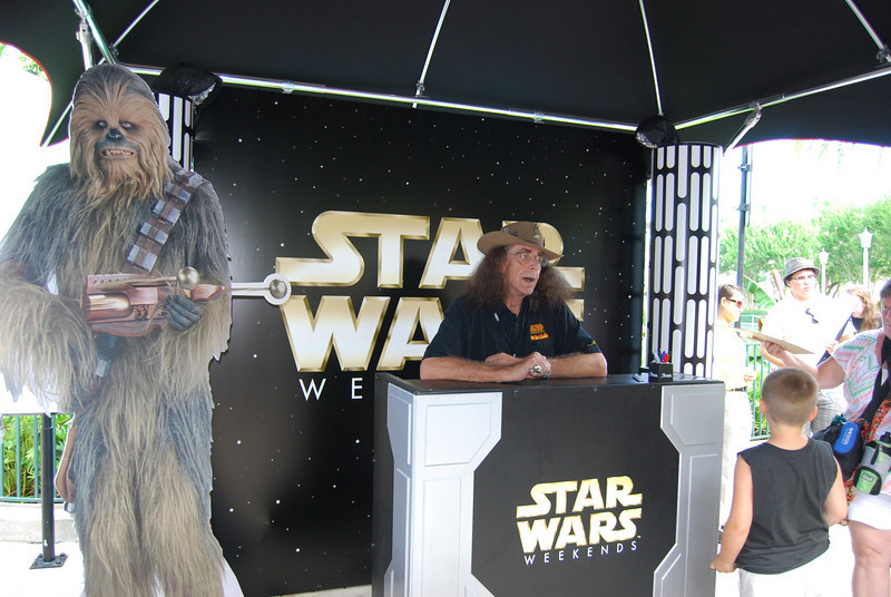 Peter Mayhew- the man who played Chewbacca