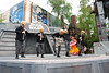 Cantina Band at Hyperspace Hoopla getting down