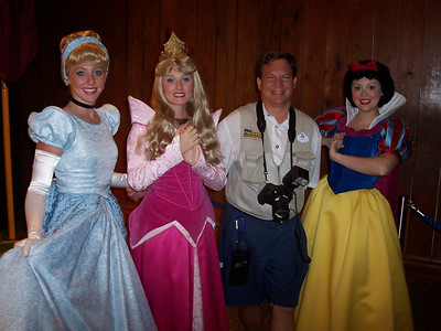 Disney Characters live and in person