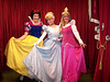 All the princesses together.  Snow White, Cinderella, and Aurora
