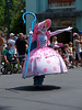 Little Bo peep from Toy Story, Stars and Motor Cars parade, Studios