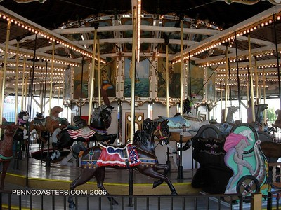 Oaks Park Carousel
