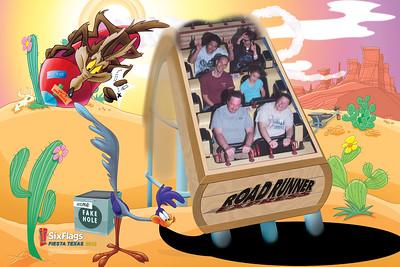Roadrunner Express, Six Flags Fiesta Texas