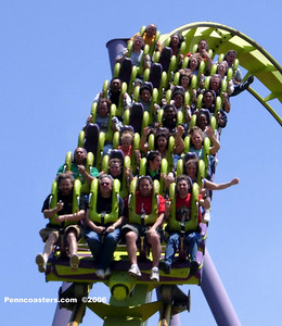 Medusa at Six Flags Great Adventure was the world's first floorless coaster.