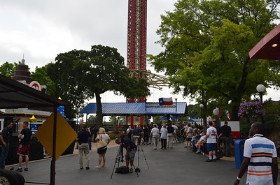 Six Flags over Texas, StarFlyer Opening- May, 2013