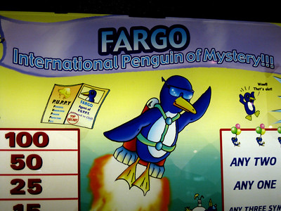 Fargo, International Penguin of Mystery slot machine.