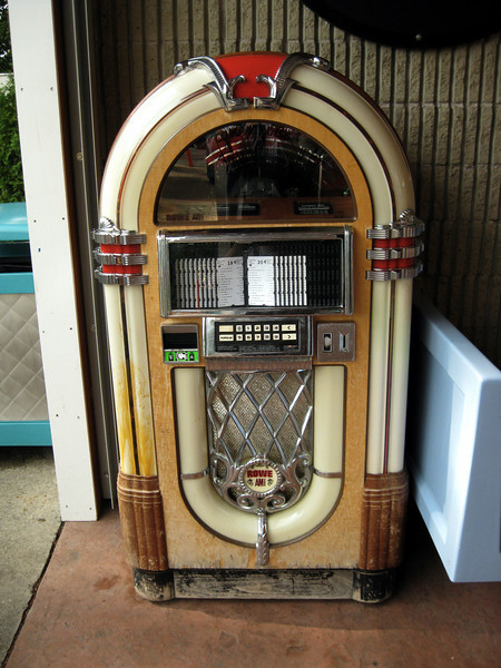 Jukebox at the Be-Bop Diner.