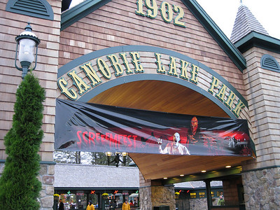 I visited Canobie Lake Park's during ScreeemFest season on Friday, October 23, 2009.