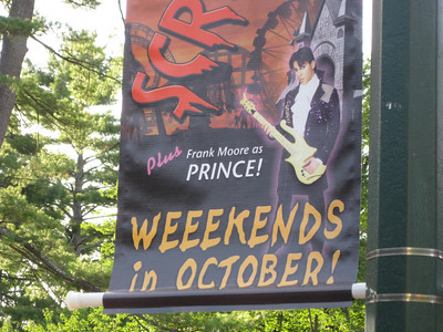 Frank Moore is the Prince tribute artist at ScreeemFest.