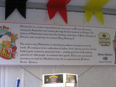 Oktoberfest story.