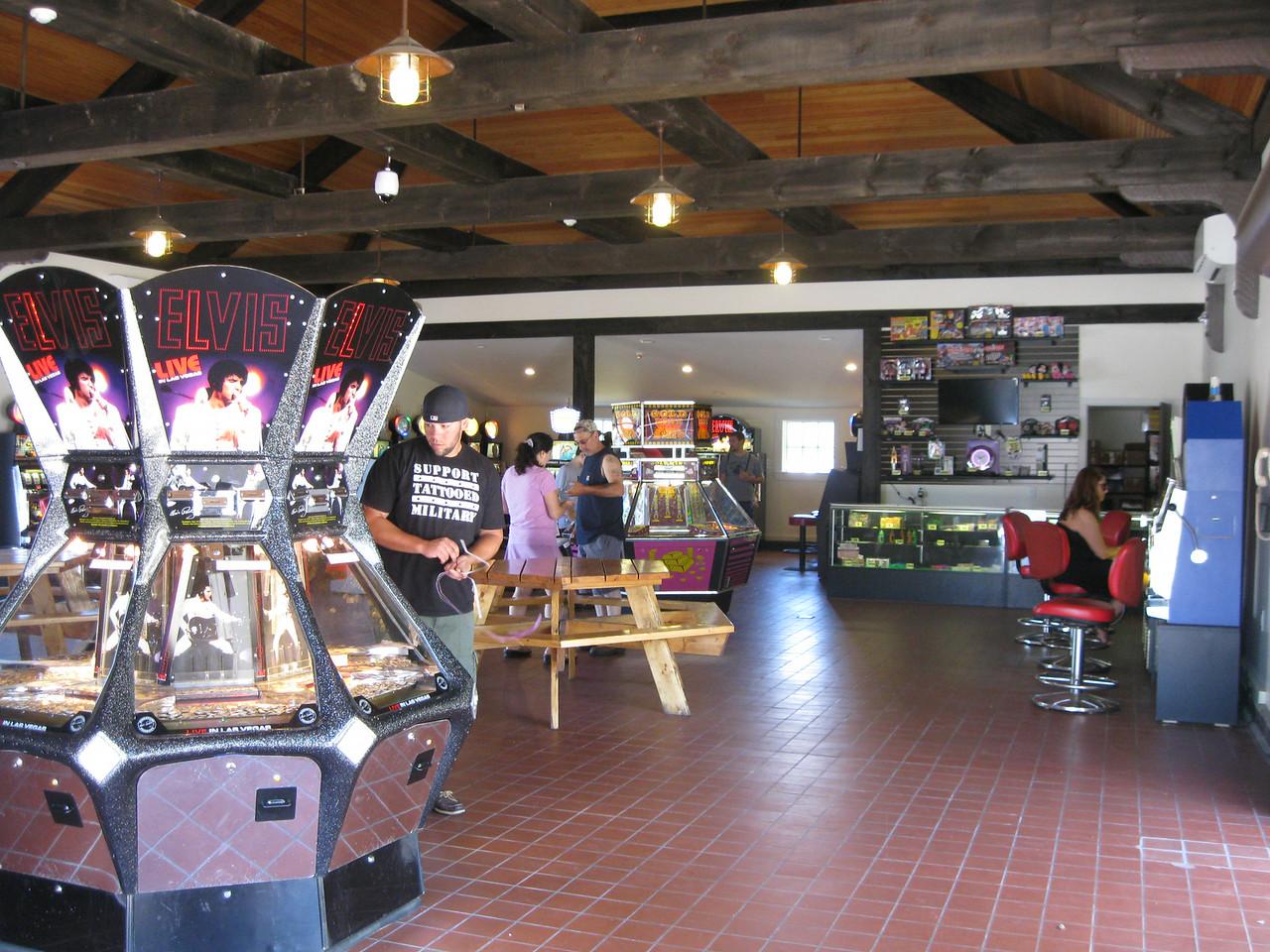 Inside the new Boathouse Casino.