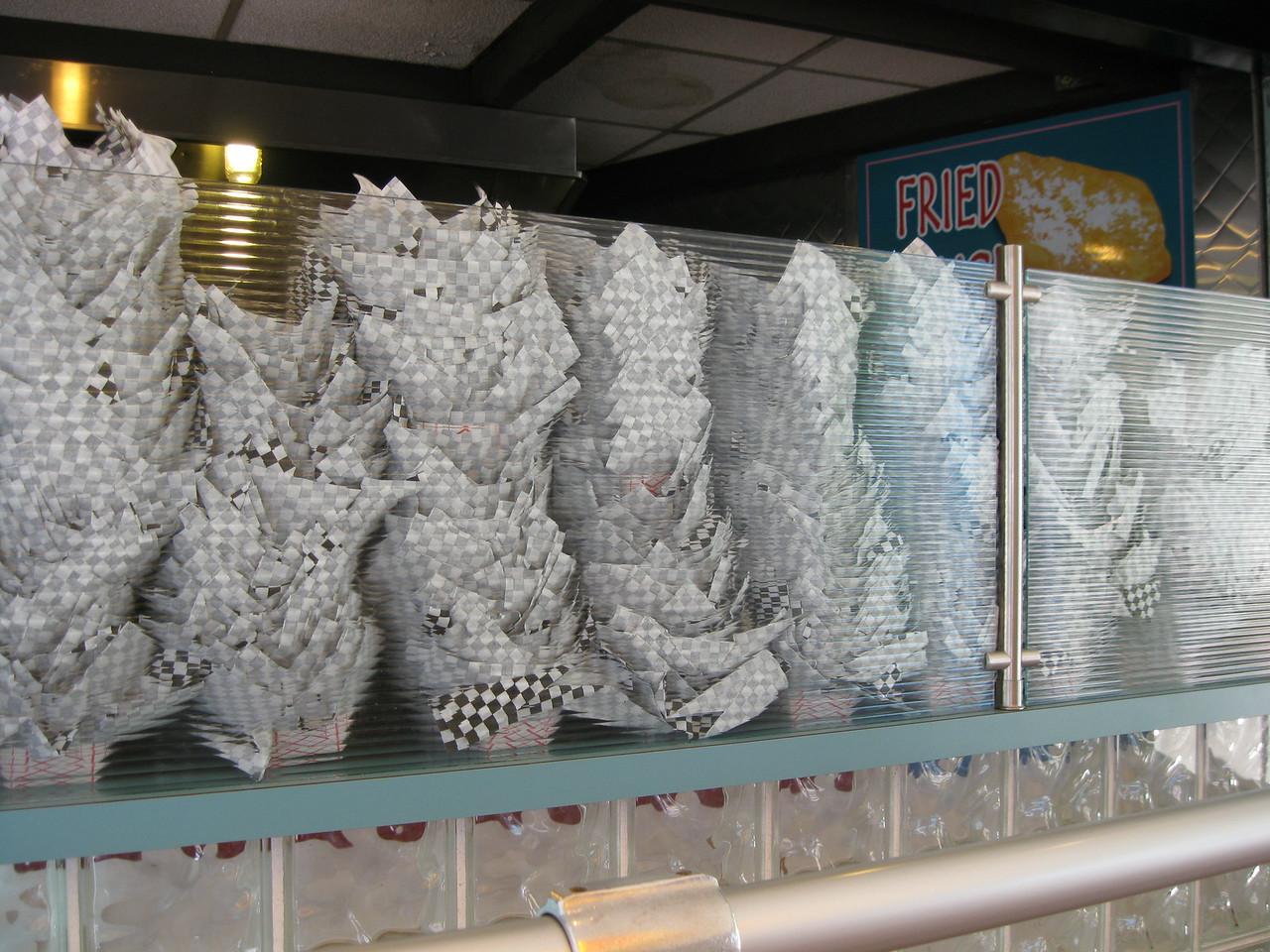 Be-bop Diner baskets.