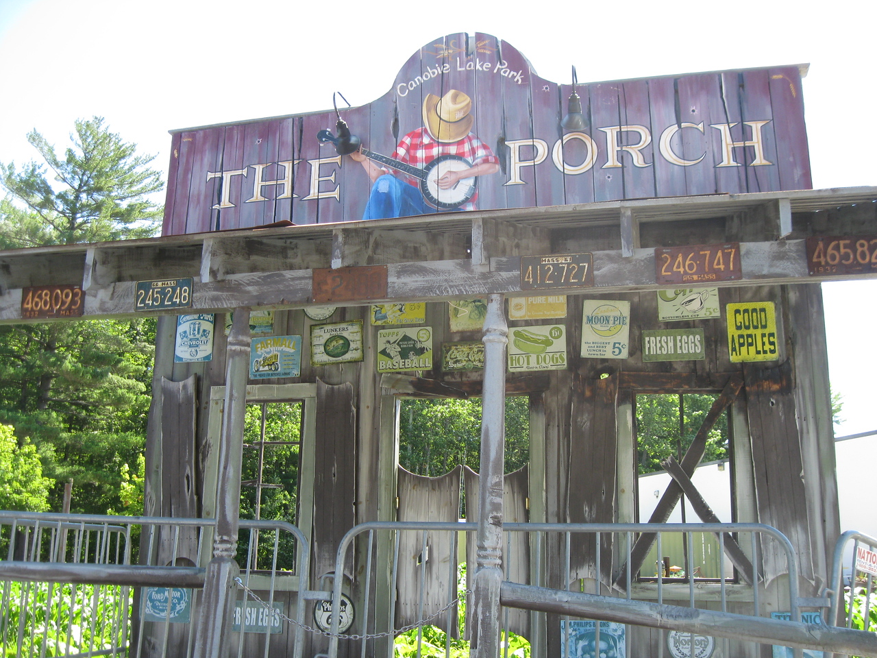 The Porch concert stage.