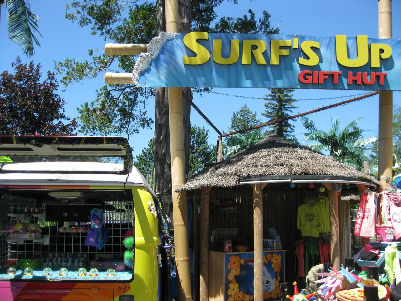 Surf's Up gift shop.