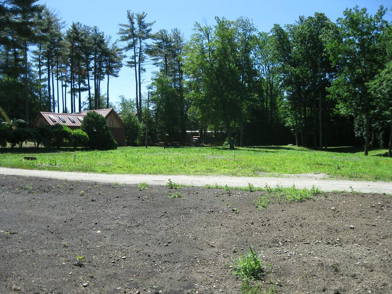Old corn maze area.