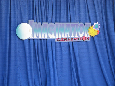Imagination Generation sign.