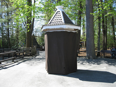 Concessions gazebo in Olde Canobie Village.