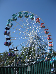 I visited Canobie Lake Park on April 24, 2010, opening day. The photos in this gallery are dedicated to the public doman.
