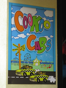 The Coaster Chase game was replaced with the similar CooKoo Cabs.