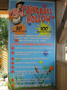 Paintball Hollow rules.