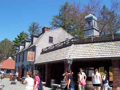 The Sons of Liberty Tavern, my favorite attraction at Canobie Lake Park.
