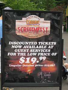 ScreeemFest tickets are available for $19.95 in advance (regular price $24.95).