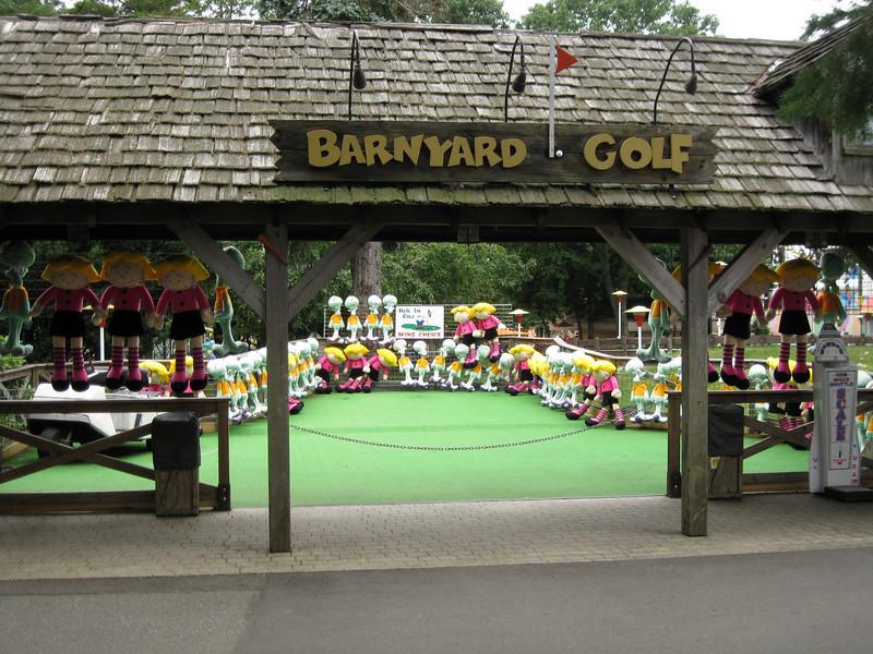 Barnyard Golf.