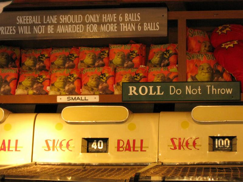 Roll. Do not throw.