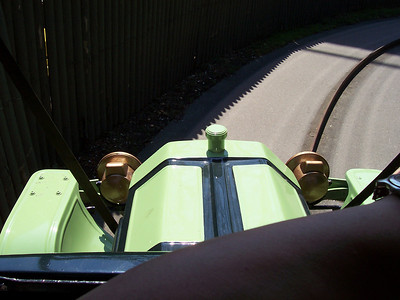 On the Antique Cars ride.