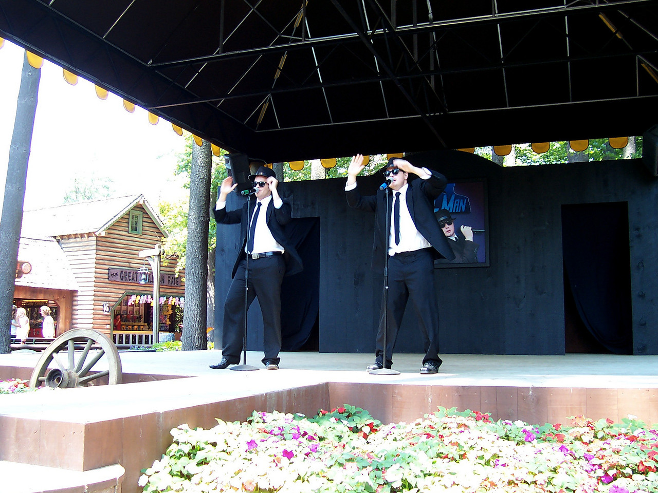 The Soul Man show. It's pretty much the same as last year, with a few different songs.