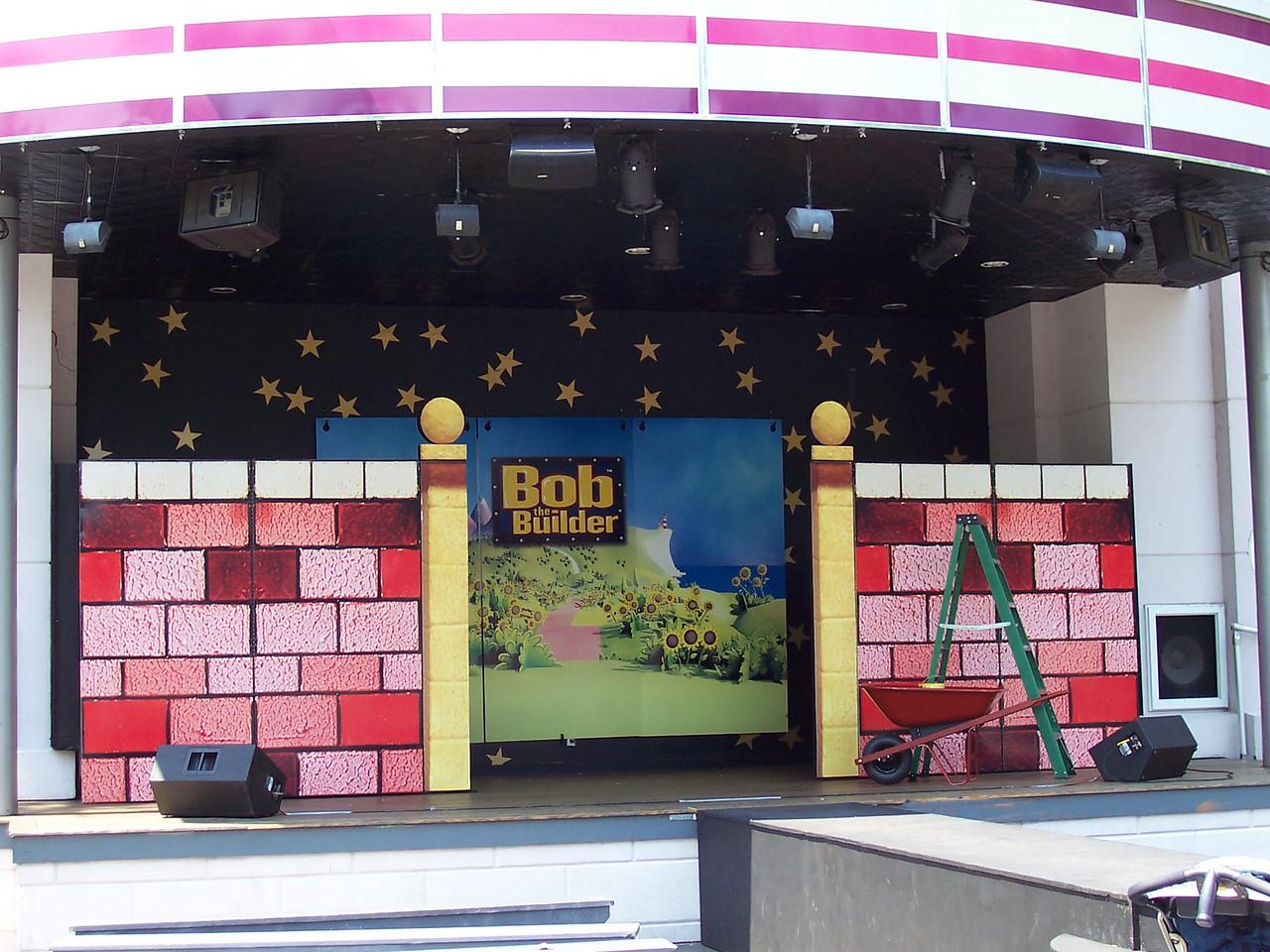 Set for the Bob the Builder show.