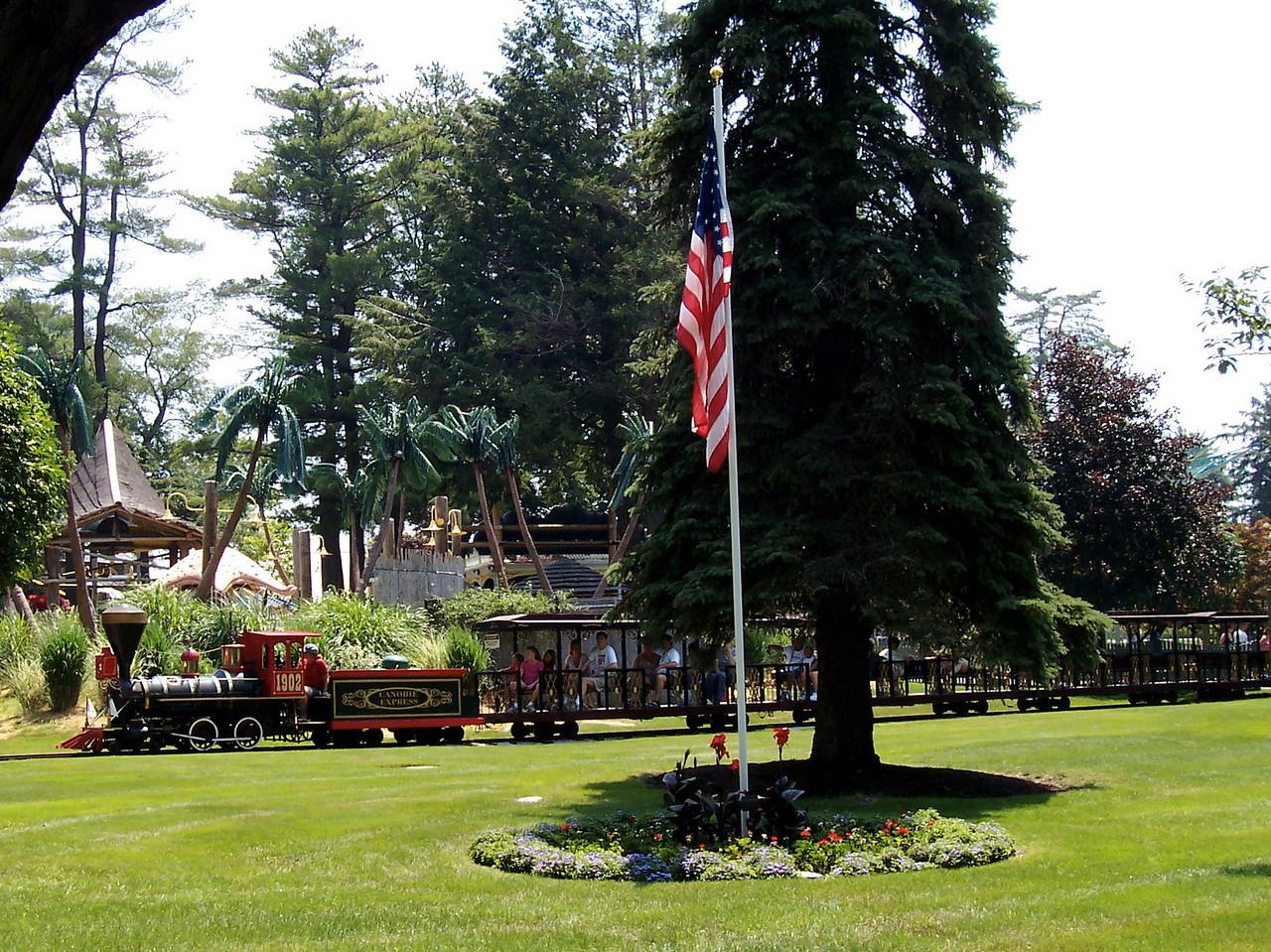 The Canobie Express train.