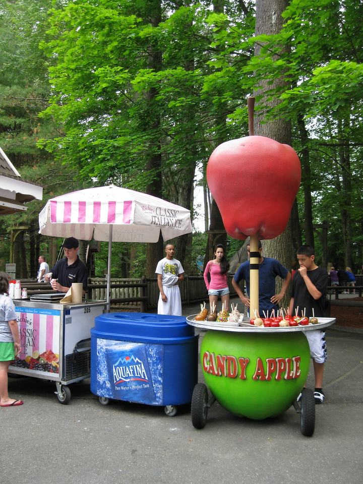 Candy Apple cart.