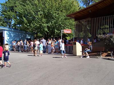 Yankee Cannonball queue at 11:55am.