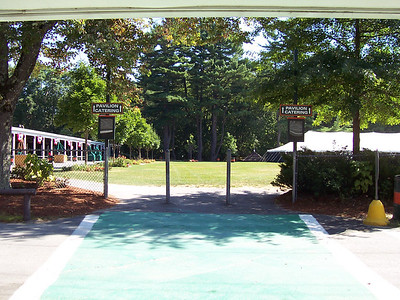 The Ball Field catering area.